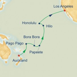 South Pacific Crossing Princess Cruises Cruise