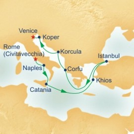 Adriatic and Aegean Connoisseur Itinerary
