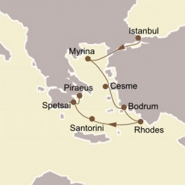 Turkey and Greek Isles Itinerary