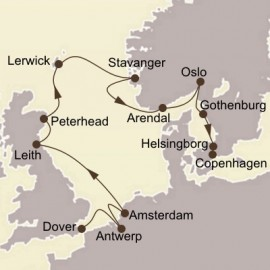 Northern European Highlights Itinerary