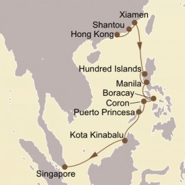 China and Asian Isles Itinerary
