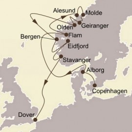 Scenic Norway and Fjords Seabourn Cruise