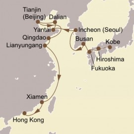 Japan Korea and Beijing Itinerary