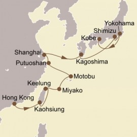 Asian Capitals Itinerary