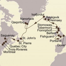 Route Of The Vikings Itinerary