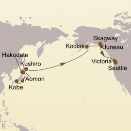 Kuroshio Route and Alaska Seabourn Cruise