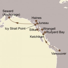 Ultimate Alaskan Sojourn Seabourn Cruise