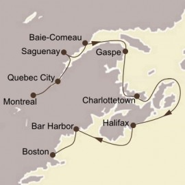 Canadian Maritimes and New England Seabourn Cruise