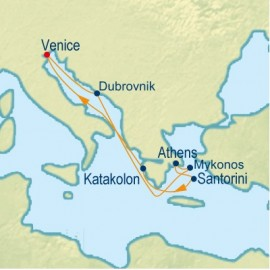 Greek Isles Cruise Itinerary