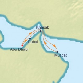 Arabian Coast Immersion Cruise Itinerary