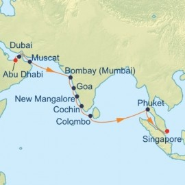 Far East Cruise Itinerary