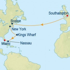 Boston and Broadway and Bermuda Itinerary