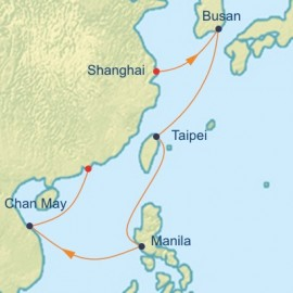 China and Philippines  Itinerary