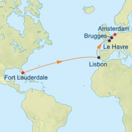 Capital Cities Transatlantic Itinerary