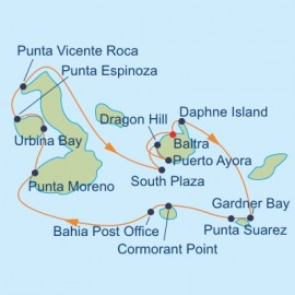 Galapagos Outer Loop Itinerary