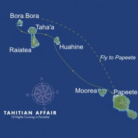 Tahitian Affair Itinerary