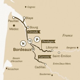 Beautiful Bordeaux Scenic River Cruises Cruise