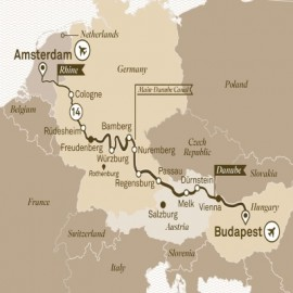 Jewels of Europe River Itinerary