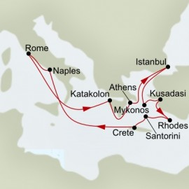Treasures of the Adriatic Itinerary