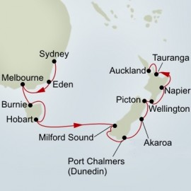 Australia and New Zealand Holiday Holland America Line Cruise