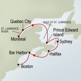 Canada and NE Discovery Holland America Line Cruise