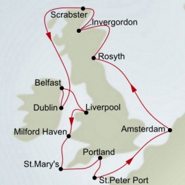 Irish and Scottish Explorer  Itinerary