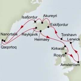 Iceland Greenland and Scotland Explorer  Itinerary