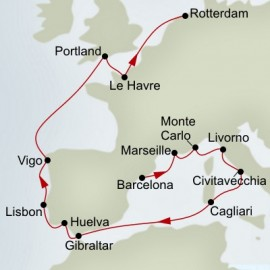 Western Europe Explorer  Itinerary