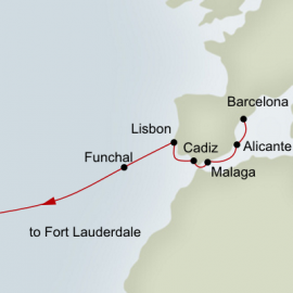 Passage to America Itinerary