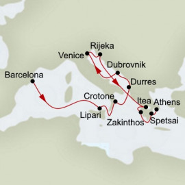 Black Sea Explorer  Itinerary