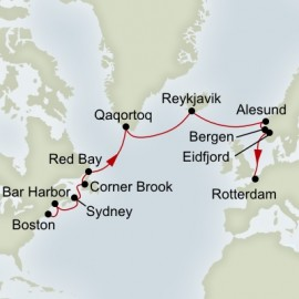 Voyage of the Vikings Itinerary