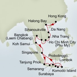 Far East and Indonesian Discovery  Itinerary