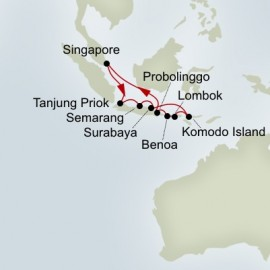 Indonesian Discovery Holiday Itinerary
