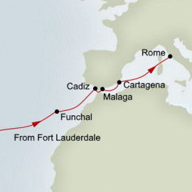 Passage to Rome Itinerary
