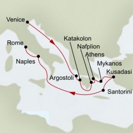 Mediterranean Dream Itinerary