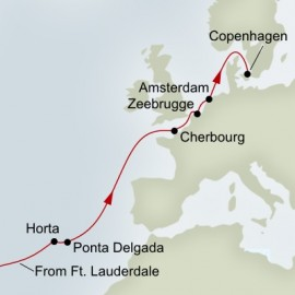 Azores and Normandy Expedition  Itinerary