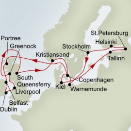 24 Day Celtic and Baltic Adventure Itinerary