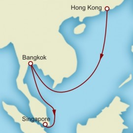 Hong Kong to Singapore World Sector Cruise