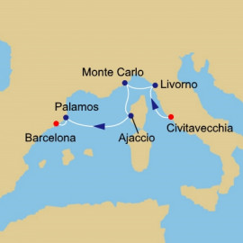 Tuscany to Spain Itinerary