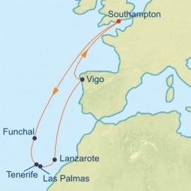 Spain and Canaries Celebrity Cruises Cruise