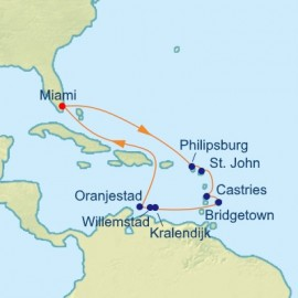 Exotic Southern Caribbean Itinerary