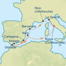 Best Of Western Mediterranean Celebrity Cruises Cruise