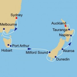 Australia and New Zealand Azamara Club Cruises Cruise