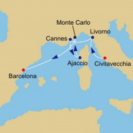Grand Prix and Cannes Azamara Club Cruises Cruise