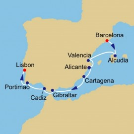 Tapas Wine And Golf Azamara Club Cruises Cruise