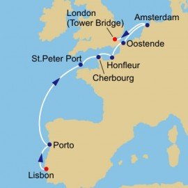 Normandy and Amsterdam Itinerary