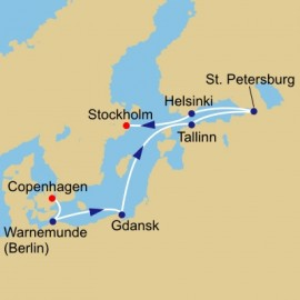 Romantic Baltic and Golf  Azamara Club Cruises Cruise