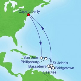 Southern Caribbean Itinerary