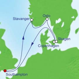 Norwegian Escapes Cruise Itinerary