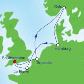 Northern Europe Cities Cruise Itinerary